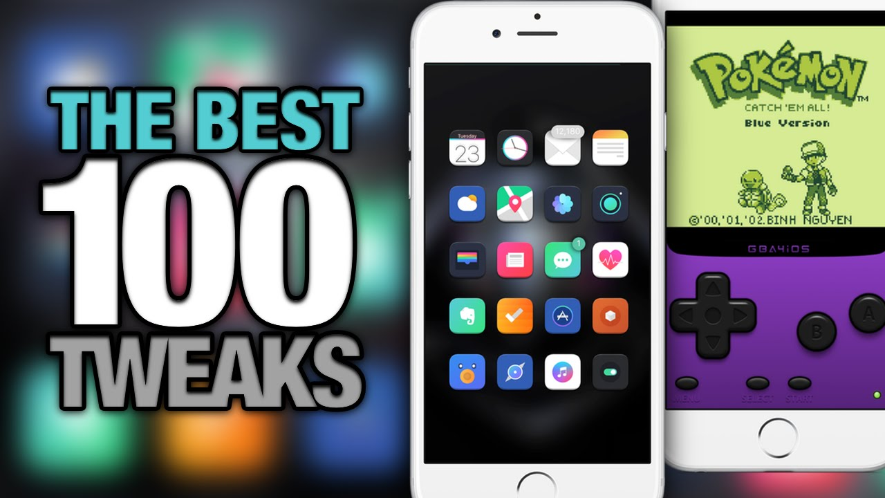 Top 100 BEST Cydia TWEAKS For iOS 9 2016 iPhone - iPad - iPod Touch
