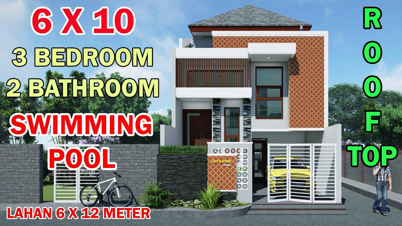 830 Gambar Rumah Minimalis 2 Lantai Dengan Kolam Renang Gratis Terbaik