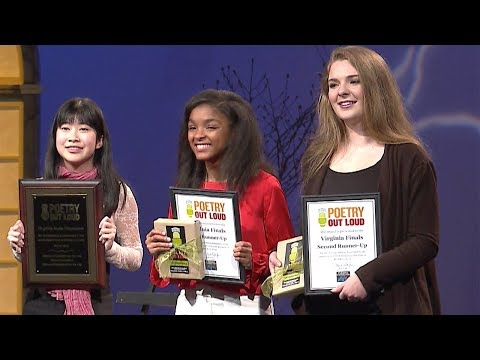 Poetry Out Loud: The Virginia Finals