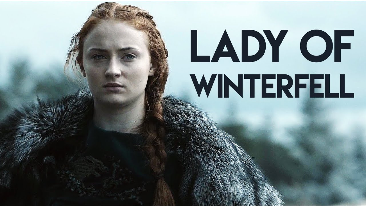 Afbeeldingsresultaat voor lady stark of winterfell