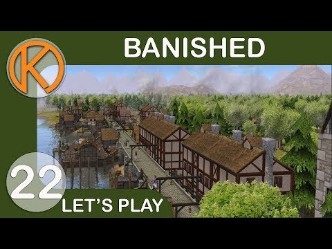 Banished CC + DS Mod Pack | BUILDING SUPPLIES - Ep. 22 | Let's Play Banished Gameplay