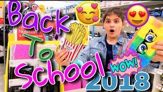 В поисках офигеной  канцелярии которую покупают американские школьники-блогеры BACK TO SCHOOL 2018