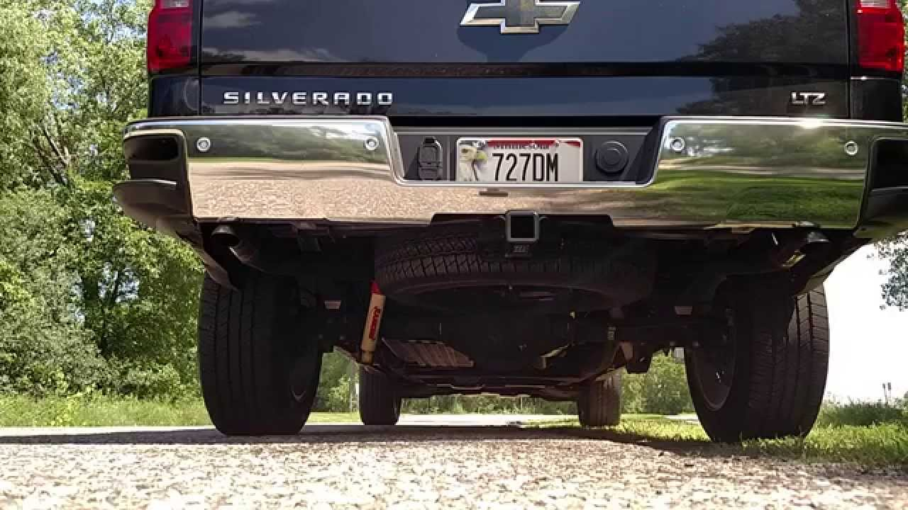 2014 Silverado Custom Tucked Exhaust Rev Sounds Youtube