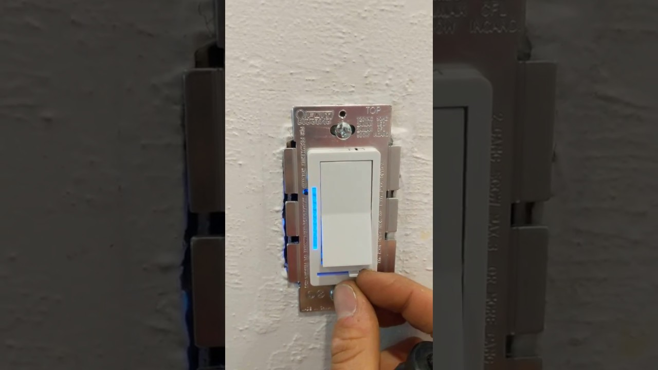 Adjusting the dimming range on the Feit Electric Digital Dimmer on