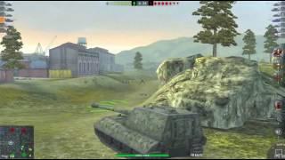 WoT Blitz || Jg.Pz. E-100 - 6500+ DMG || Feat. KASBARY
