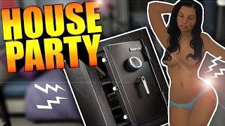 Unlocking The Safe Pranking Ashley House Party