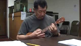 Gordon Mark Ukulele Solo Somewhere Over The Rainbow