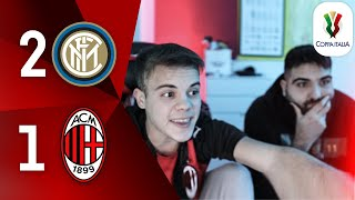 😡 SONO INCA**TO NERO!!! - INTER 2-1 MILAN | LIVE REACTION TIFOSO ROSSONERO