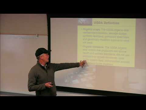 Lecture 16 Organic Farmscaping Energy
