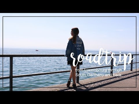 Roadtrip From Luxembourg Through South Germany & Back - Travel Diary II Stars + Magic
