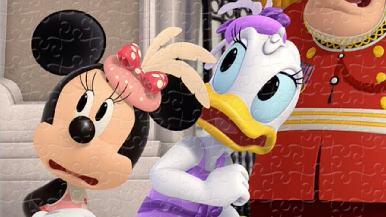 Mickey Mouse Disney Puzzle rompecabezas with Minnie Mouse and Daisy Duck