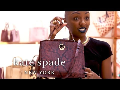 Top Picks With Niesha: Animal Print Handbags, Dresses & Shoes | Talking Shop | Kate Spade New York