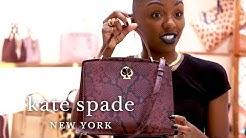 top picks with niesha: animal print handbags, dresses & shoes | talking shop | kate spade new york