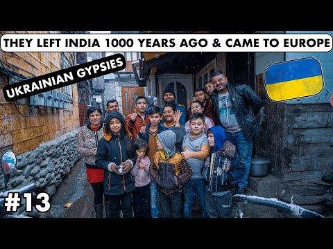 THEY LEFT INDIA 1000 YEARS AGO & CAME TO EUROPE - UKRAINIAN GYPSIES