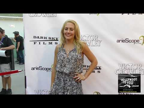 Mercedes McNab at the Hatchet' 10th Anniversary Celebration at ArcLight Theatre in Hollywood