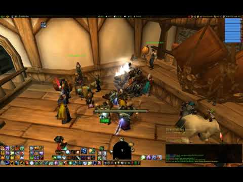Train Bombing Stormwind Auction House