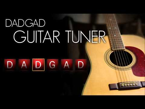 dadgad guitar tuner - acoustic (interactive!)