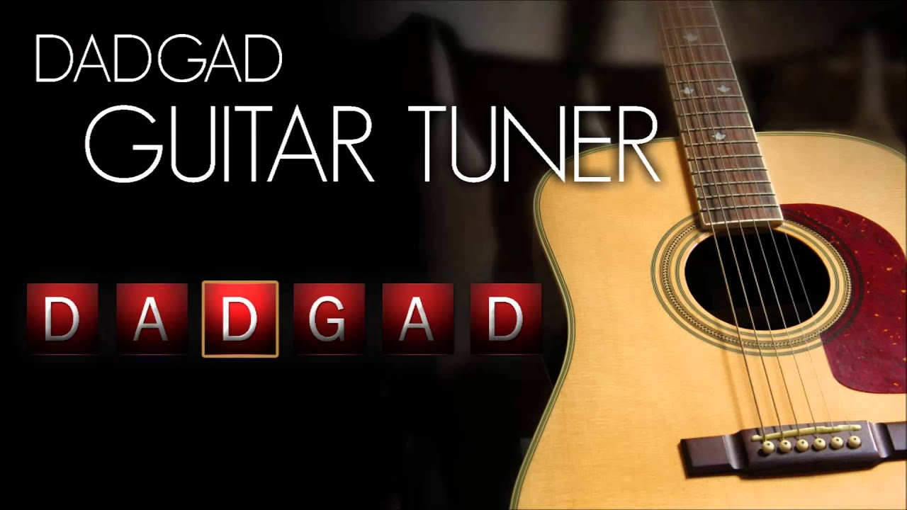 Dadgad Guitar Tuner Acoustic Interactive Youtube