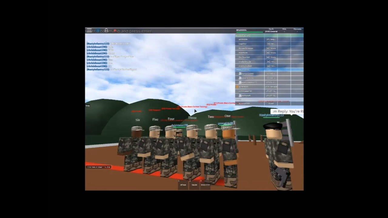 US Army B.C.T (Basic Training)
