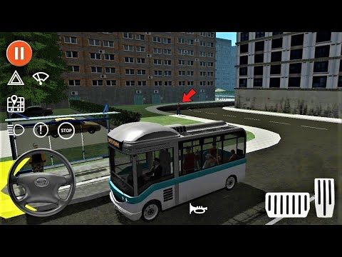 Public Transport Simulator / Mini Gruau BUS Unlocked - Bus Games Android & iOS Gameplay - HD #77  