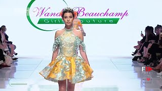 WANDA BEAUCHAMP Girls Couture Spring 2018 AHF Los Angeles - Fashion Channel