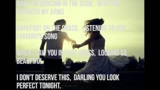 Ed sheeran -perfect[lyrics video mp4 ...