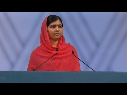 Watch Malala Yousafzai's Nobel Peace Prize acceptance speech