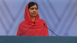 Watch Malala Yousafzai