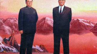 North Korean Song - We Shall Follow You Forever
