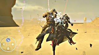 FINAL FANTASY XV - Aranea Level 120 Boss Fight | Update 1.21 (1080p 60fps) PS4 Pro
