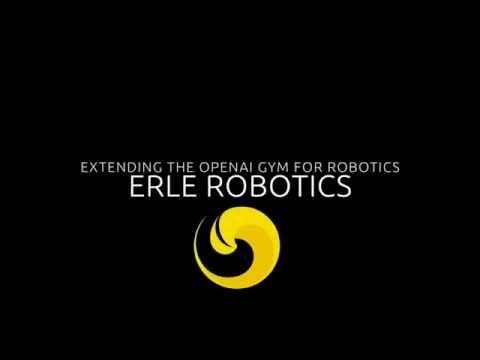 OpenAI gym for robotics by Erle Robotics on YouTube