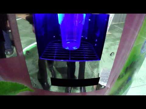 Торговый автомат кислородного молочного коктейля