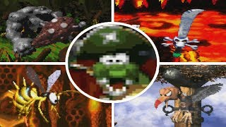 Donkey Kong Country 2: Diddy's Kong Quest - All Bosses