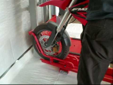elevador de motos para parking wwwdti3000com  YouTube