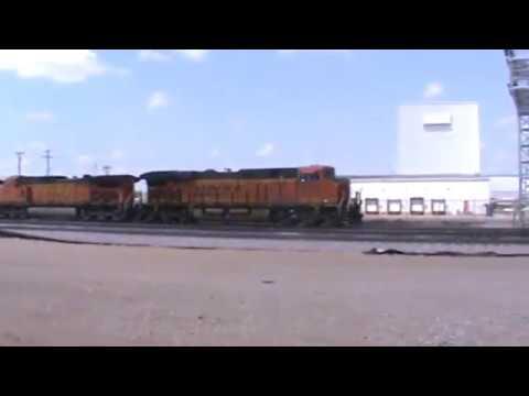 BNSF General Freight arriving Tulsa, OK 6/11/17 vid 4 of 9