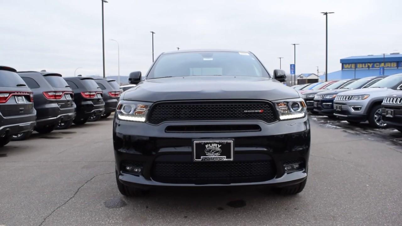 Fury Motors South St Paul >> 2019 Dodge Durango Gt Awd New Suv For Sale South St Paul Mn