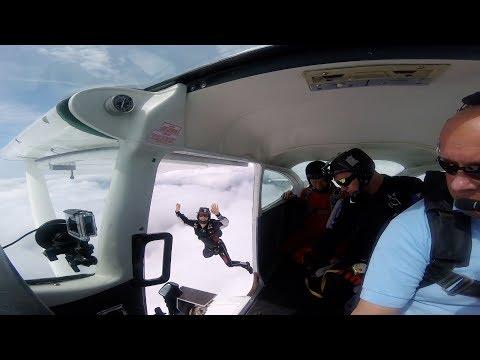 Clonbullogue Parachute Jump from a Cessna 182