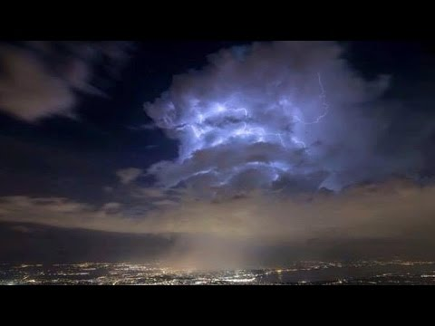 SHOCKING: Huge Portal Opens Above CERN In Geneva! [HD]