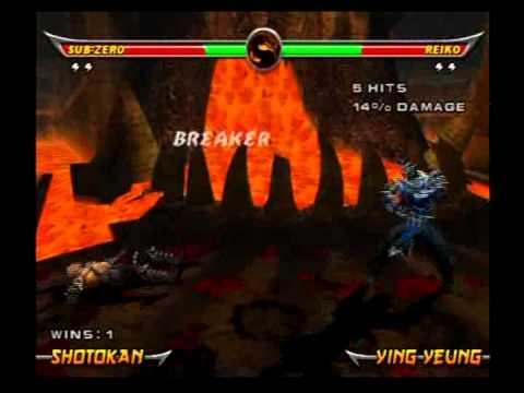 Mortal Kombat Armageddon - Sub-Zero - Max Difficulty