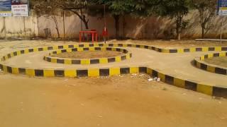 Bike Motor Driving test Field Bhubaneswar RTO DL