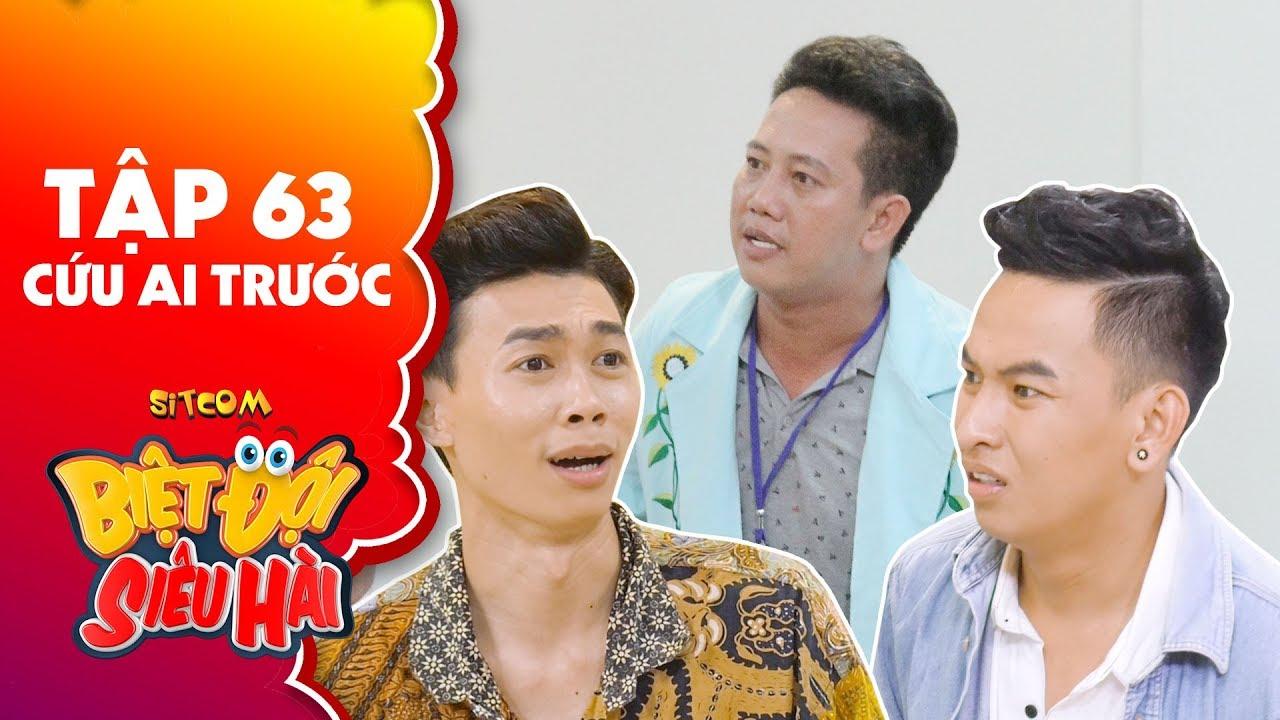 Biệt đội siêu hài   tập 63 - Tiểu phẩm: Huỳnh Quý, Hồng Thanh dùng tiền mua chuộc bác sĩ Lê Nam