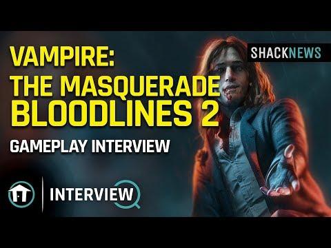 Vampire: The Masquerade – Bloodlines 2 – Gameplay Interview