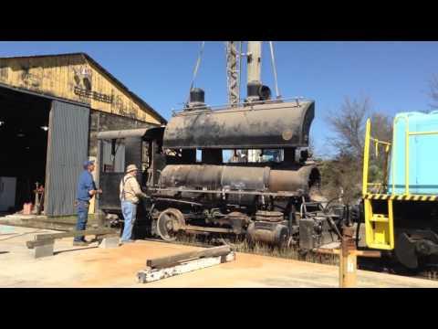 MUST SEE! 0-4-0 Baldwin Steam Locomotive Water Tank Removal