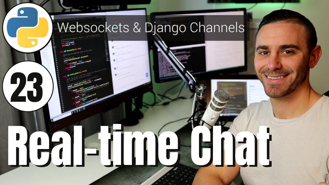 Public Chat App (Django Channels and Web Sockets)
