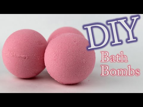 DIY Bath Bomb - How To Make Bath Bombs