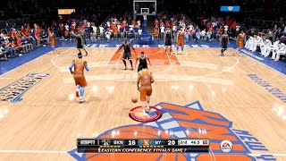 NBA Live 15 FULL GAME 1st Impressions - New York Knicks vs Brooklyn Nets