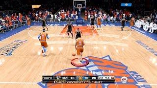 NBA Live 15 FULL GAME 1st Impressions - New York Knicks vs Brooklyn Nets