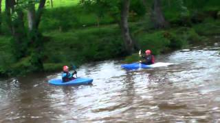 Moving water training at river Coquet Thrum mill (Rothbury  .MP4