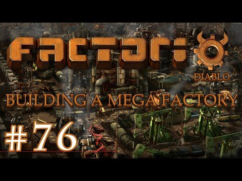 Factorio - Building a Mega Factory: Part 76, The Red science setup and start green science