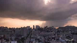 Timelapse Sunset In Korea 2013 by Kooi Park Kyoung Kyun Featuring Music by The American Dollar